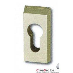 Rosace pour porte aluminium et PVC