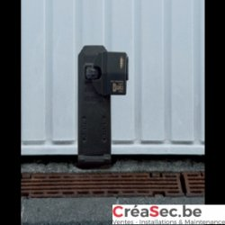 La serrurerie de waterloo crea security - Verrou porte de garage ...