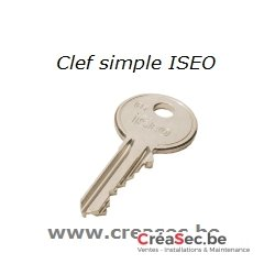 Reproduction clef ISEO F5