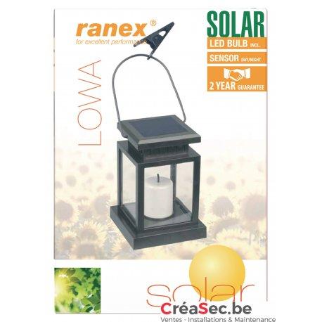 Lanterne décorative Led Solaire