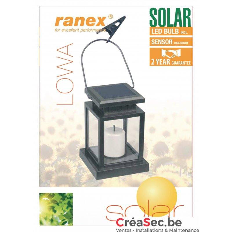 Lanterne exterieur d corative et solaire for Lanterne solaire exterieur