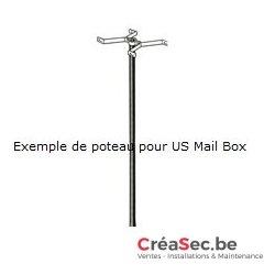 Colonne pour US Mailbox Burg Wacher