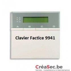 Calvier d'Alarme Factice