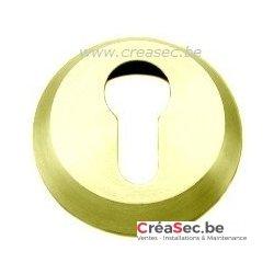Rosace de sécurité dorée