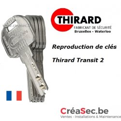 Copie de clé Thirard Transit 2