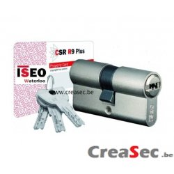 cylindre ISEO csrR9+  Creasec.be