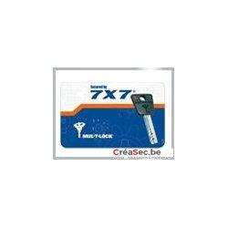 Clef Mul-T-Lock 7X7