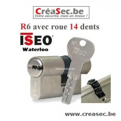Cylindre ISEO R6 40x40  14 dents