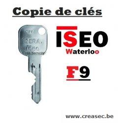 copie de clé ISEO F9 Crea-Security