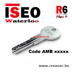 copie clé R6 ISEO en 24h chrono