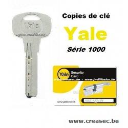 Copie clé Yale avec carte