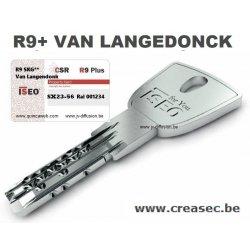 Copie clé ISEO CSR R9 Van Langendonck