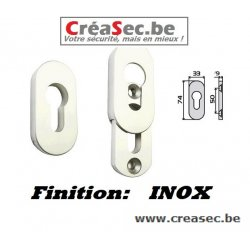 Rosace de securité en Inox  Creasec.be