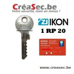 faire une clé IKON 1RP20