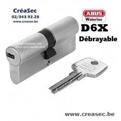 Cylindre D6x sur code existant  cdé sur Creasec.be