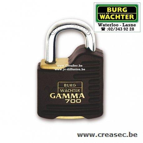 Burg Wachter Gamma 700 sur creasec.be