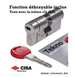 Cylindre Cisa Technopro Creasec.be