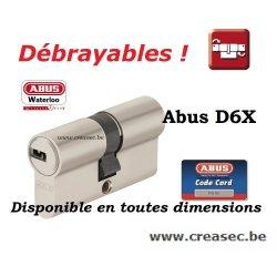Abus D6x débrayable sur cREASEC.BE