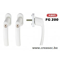 Poignée a clef Abus FG200