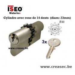 Cylindre avec roue 14 dents