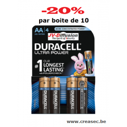 Piles 1,5v AA+ Duracell