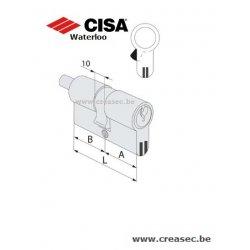 Cylindre Cisa C3000S meme clé