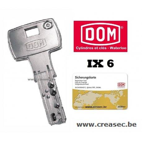 Copie clé Dom série ix
