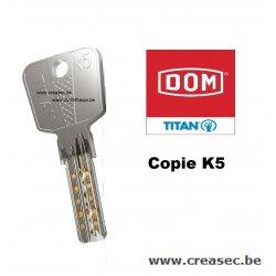 Copie clé DOM i6 Titan