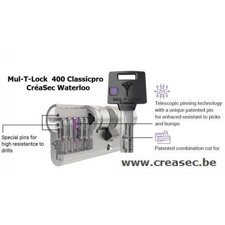 Cylindre Mul-T-Lock 400 - ClassicPro