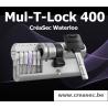 Cylindre Mul-T-Lock 400 débrayable & à même clé