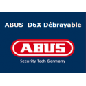 Cylindre Abus D6X